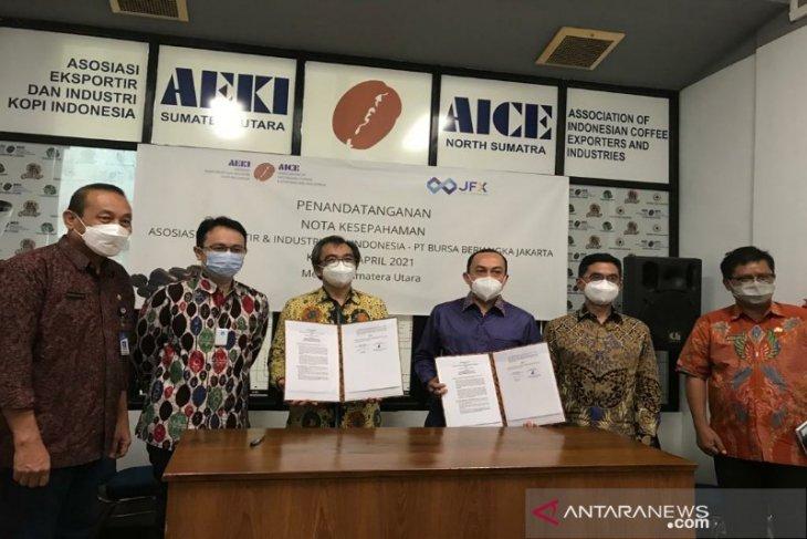 JFX-AEKI kerjasama tingkatkan edukasi  perdagangan berjangka kopi