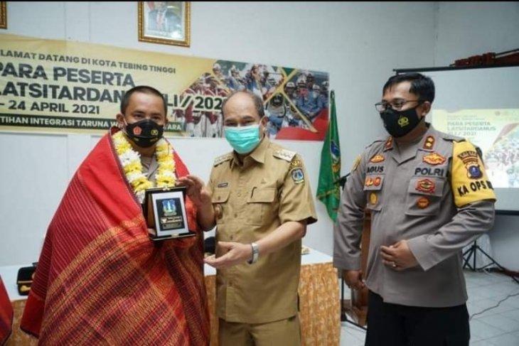 Wali Kota Tebing Tinggi sambut  taruna peserta Latsitardanus 2021