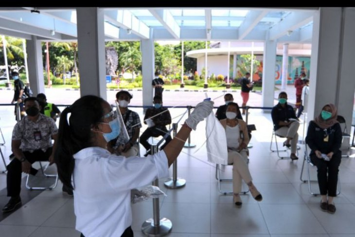 Simulasi layanan GeNose C19 di Bandara Ngurah Rai