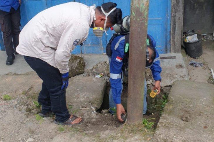 Ahli pastikan yang menyembur di Pasar Sipirok berupa gas, namum tidak berbahaya