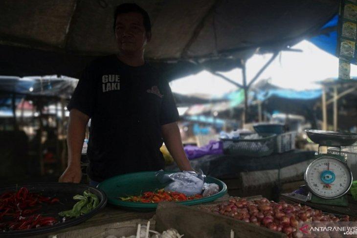 Jelang Ramadhan 1442 H, kebutuhan pokok pasar di Tapin aman kecuali cabai rawit