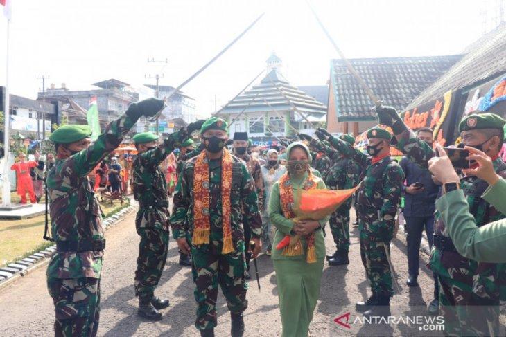 Letkol CZI Trisnu Novawan pegang jabatan Dandim 0409/Rejang Lebong