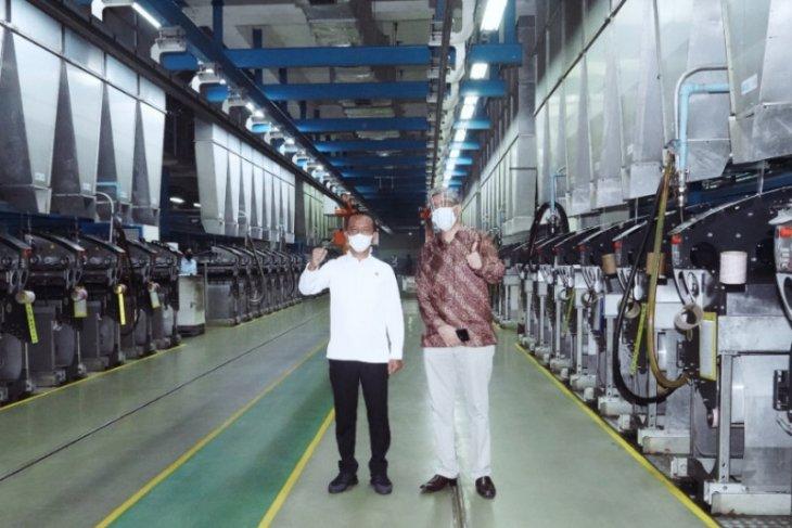 Bahlil resmikan perluasan pabrik Indorama investasinya Rp510 miliar