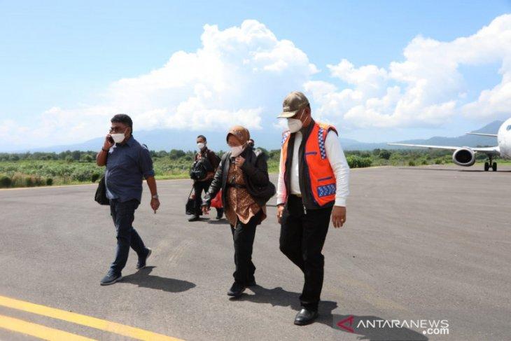 Mensos Risma balik kunjungi NTT pastikan bantuan logistik  tersalurkan