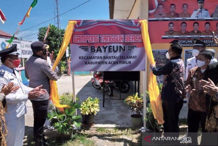 Aceh Timur luncurkan gampong tangguh bereh, ini tujuannya