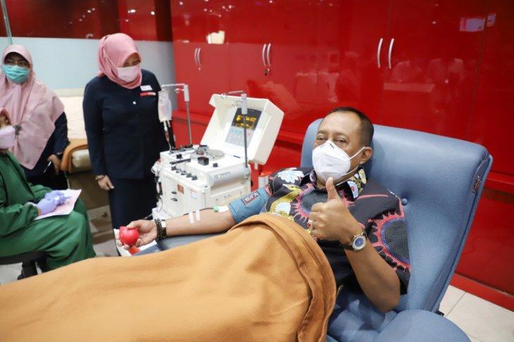 Wawali Armuji ajak warga Surabaya donorkan plasma konvalesen