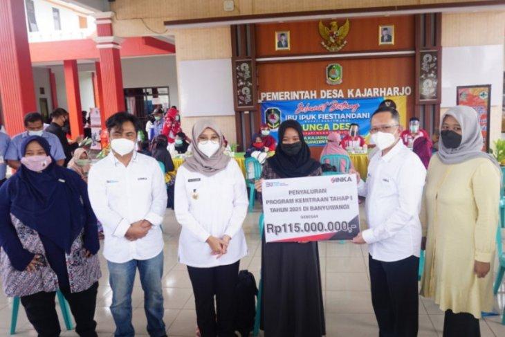 INKA salurkan bantuan modal untuk UMKM di Banyuwangi