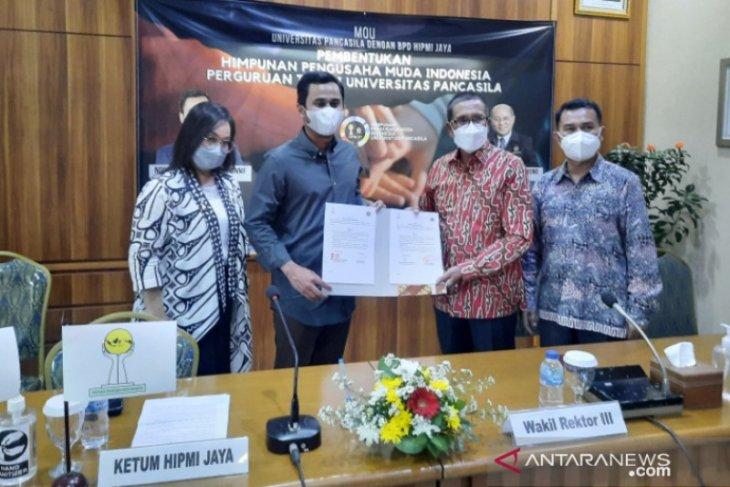 Universitas Pancasila jalin kerja sama dengan Hipmi Jaya