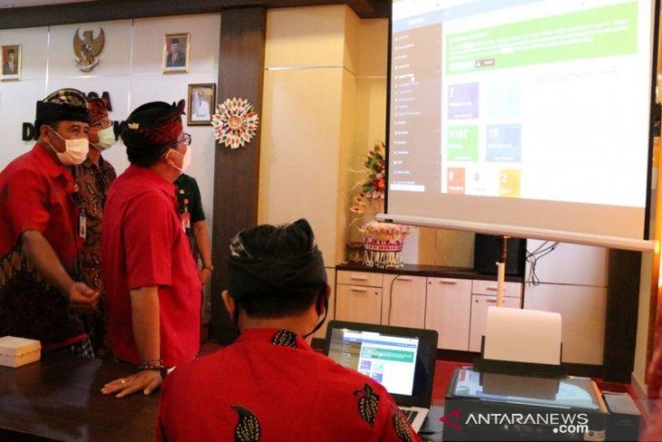 Bupati Tabanan resmikan Desa Digital