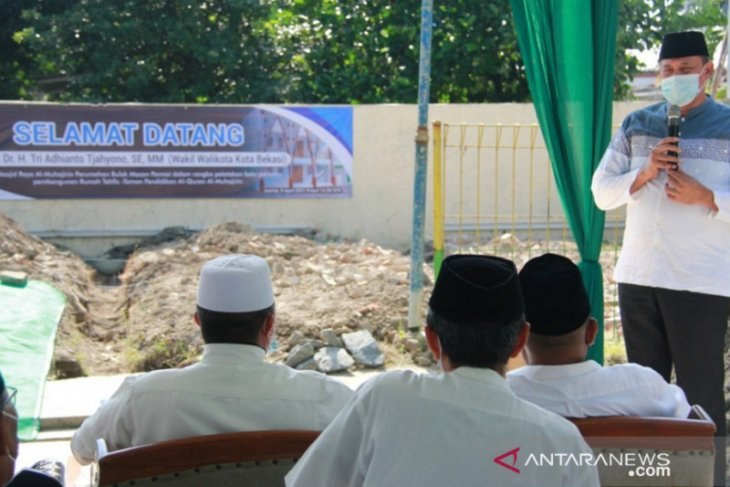 Wakil Wali Kota Bekasi lakukan peletakkan batu pertama Gedung Tahfidz Quran