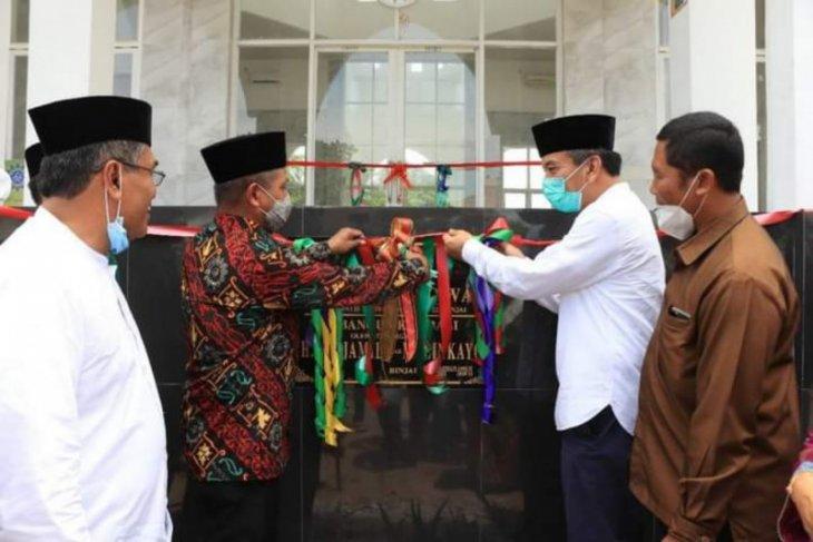 Pejabat Sekda Binjai resmikan masjid taqwa