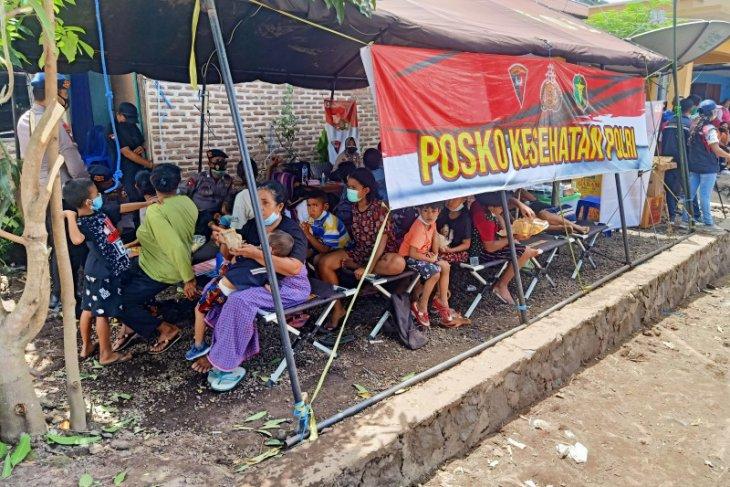 1.105 penduduk Ile Boleng kehilangan tempat tinggal