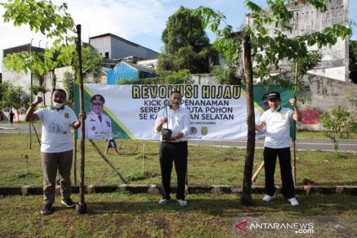 Banjarmasin ikut sukseskan gerakan menanam sejuta pohon