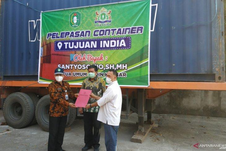 Kadin Kalbar melaunching ekspor serbuk kratom tujuan negara India
