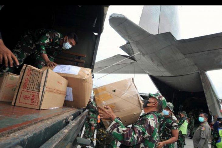Pengiriman bantuan untuk NTT