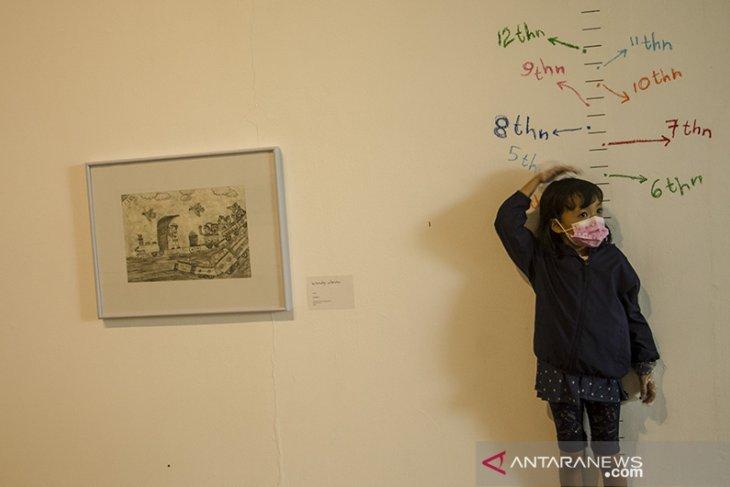 Pameran anak berani melukis