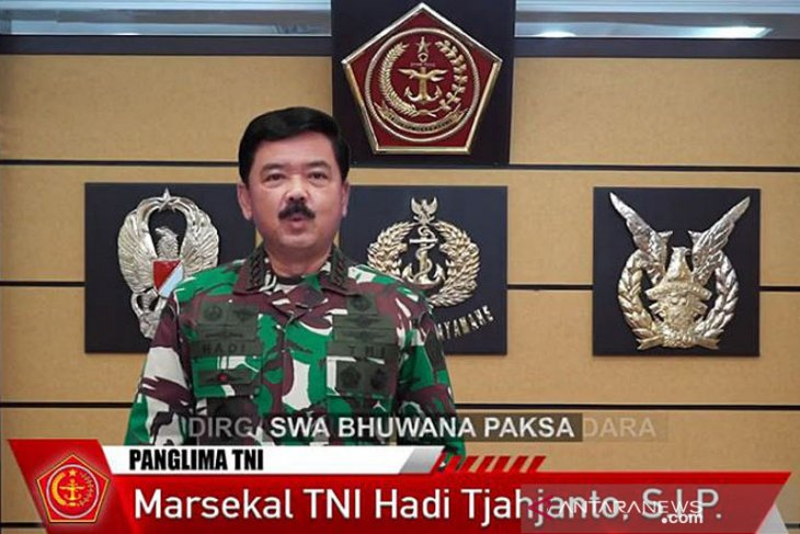 Panglima TNI minta bantuan Singapura dan Australia cari KRI Nanggala-402