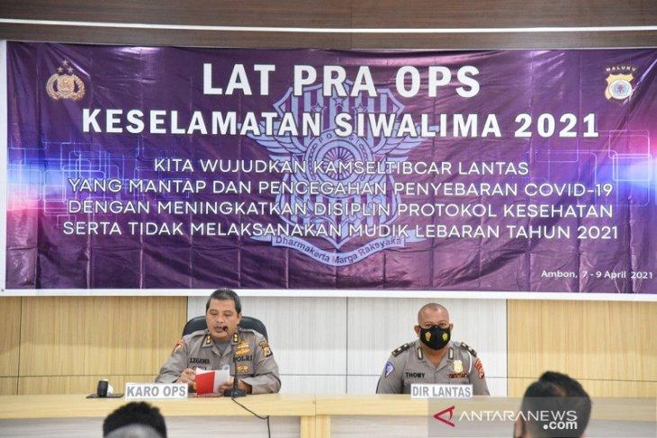 Ditlantas Polda Maluku akan gelar operasi keselamatan Siwalima 2021