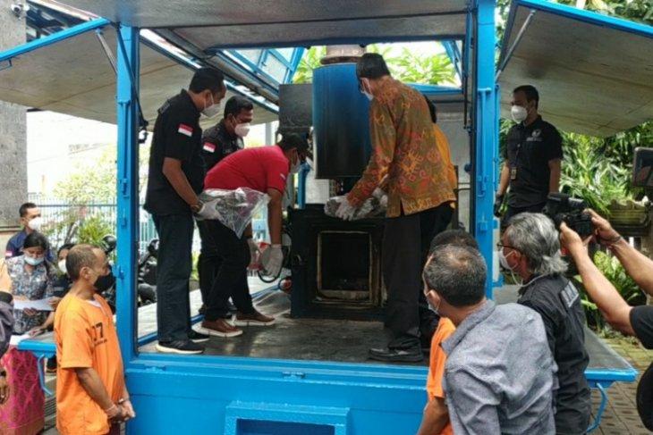 BNN Bali musnahkan 28 kg ganja dari sindikat lintas provinsi