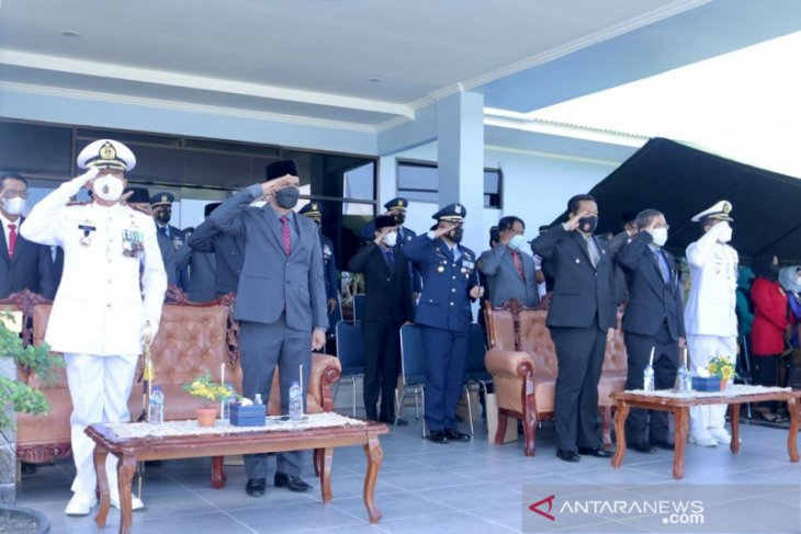 Wali kota Sabang hadiri peringatan HUT ke 75 TNI Angkata Udara