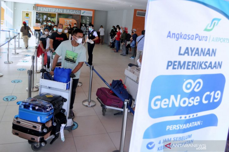 Bali's Ngurah Rai airport rolls out COVID breathalyzer test