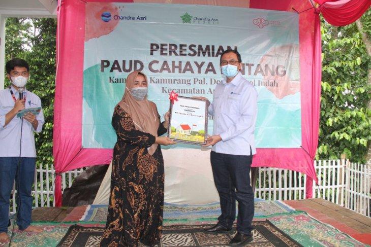 Dukung Pendidikan Usia Dini, Chandra Asri Bangun Gedung PAUD Keempat di Kabupaten Serang