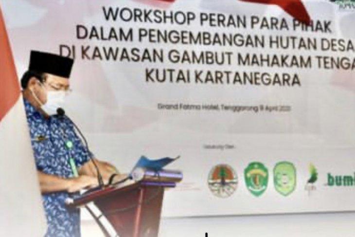 Wilayah KPHP DAS Belayan di Kukar terluas di Indonesia