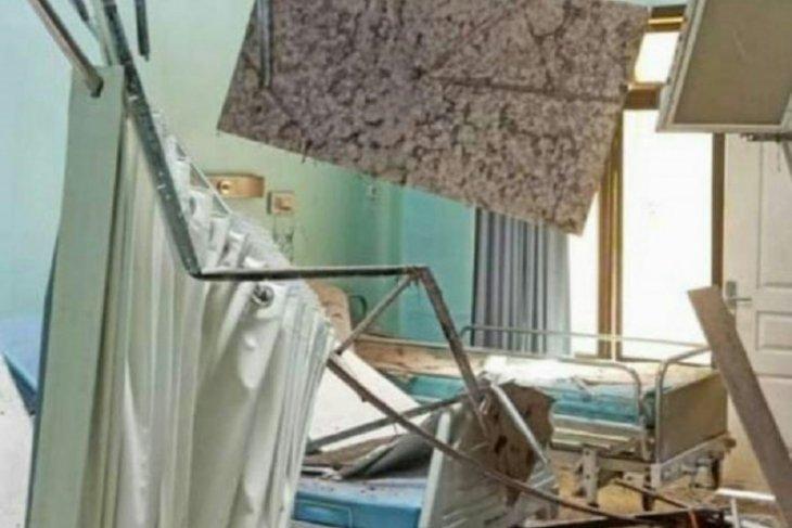 RSUD Mardi Waluyo Blita terdampak  gempa, ruang perwatan rusak