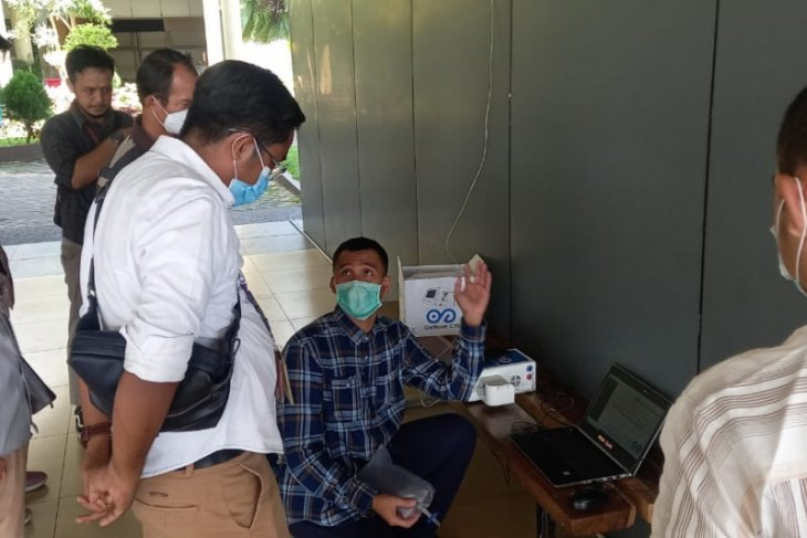 Mulai 12 April tes GeNose diberlakukan di Bandara Sultan Thaha Jambi