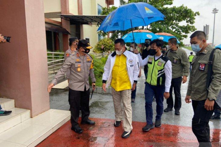 Kapolda Jambi sambut kedatangan Ketua MPR RI