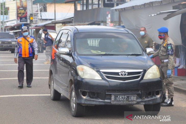 Tim gabungan COVID-19 Belitung Timur gelar operasi yustisi