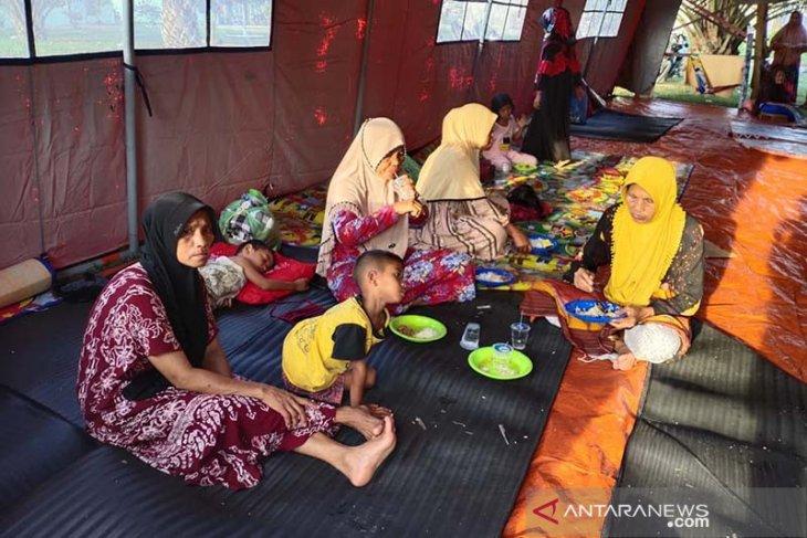 Akibat gas beracun, 259 jiwa di Aceh Timur mengungsi