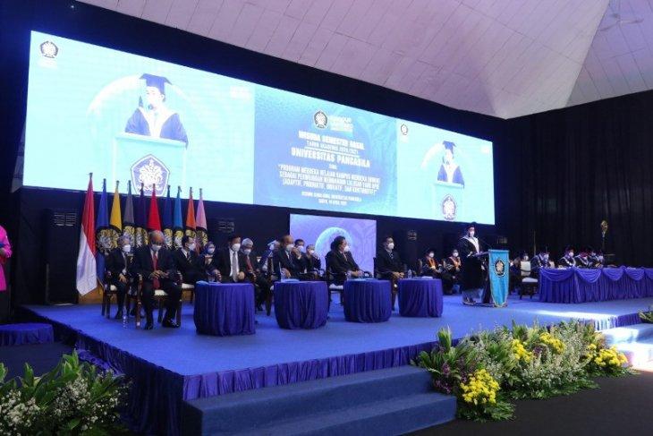 Universitas Pancasila wisuda 989 orang secara daring
