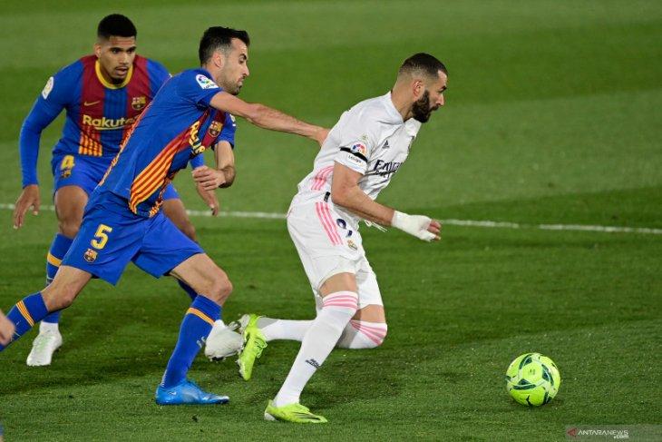 10 pemain Real Madrid bungkam Barcelona dalam El Clasico