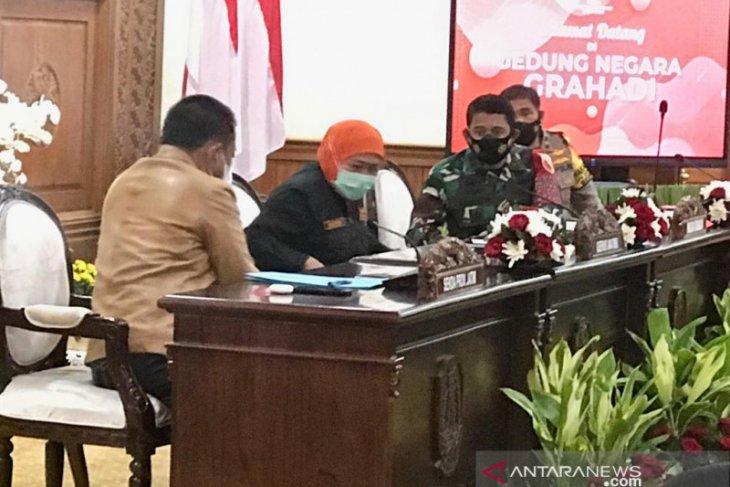 Gubernur Khofifah sampaikan duka cita kepada korban meninggal akibat gempa