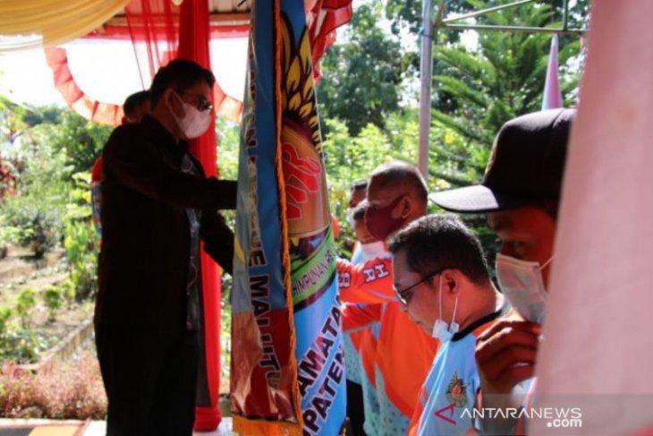 Wabup HSS kukuhkan kepengurusan HImpunan Relawan Rescue Malutu