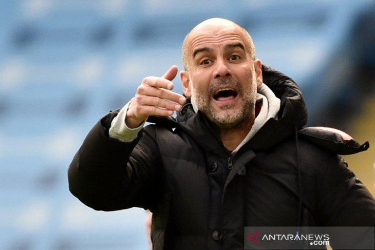 Liga Inggris: Guardiola tak sesali pilihan pemainnya saat City dipecundangi Leeds