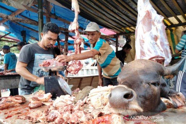 Pemkab pastikan daging meugang di Aceh Barat aman dikonsumsi