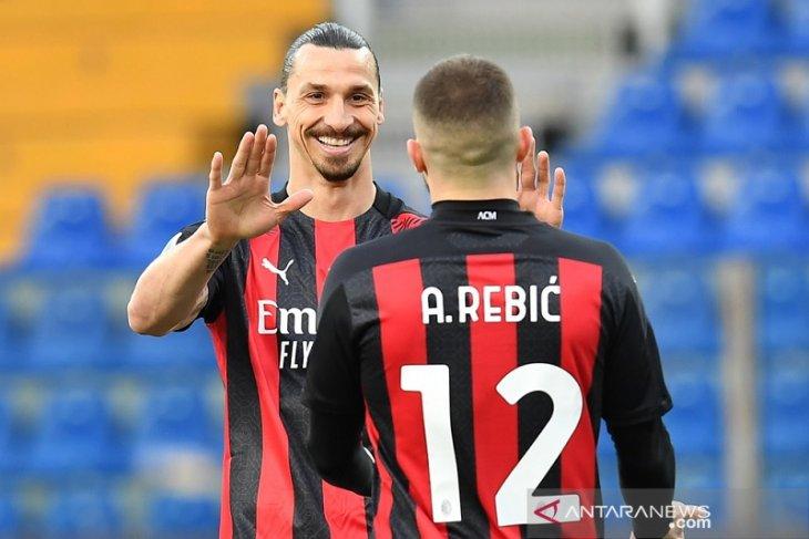 Klasemen Liga Italia : AC Milan perkecil jarak dari puncak