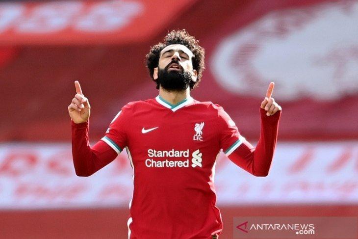 Salah bertekad Liverpool berjuang keras agar finis di empat besar