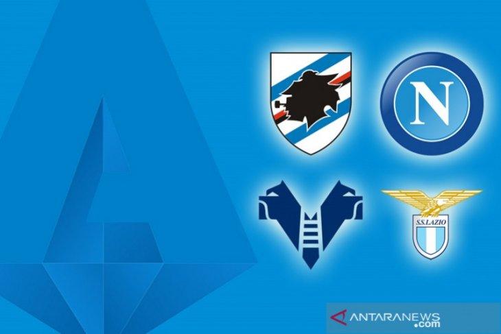 Napoli dan Lazio kompak petik kemenangan saat tandang