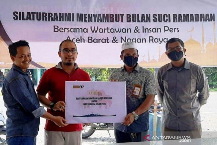 PWI Aceh Barat apresiasi kemitraan Mifa Bersaudara bersama wartawan