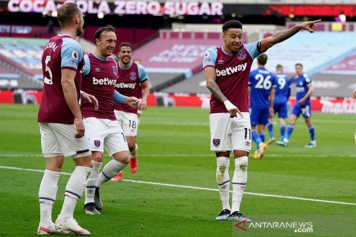 Lingard semakin cemerlang saat membantu West Ham taklukkan Leicester