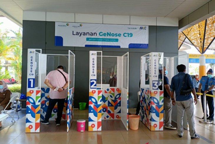 Bandara Sultan Thaha Jambi lakukan ujicoba penggunaan GeNose