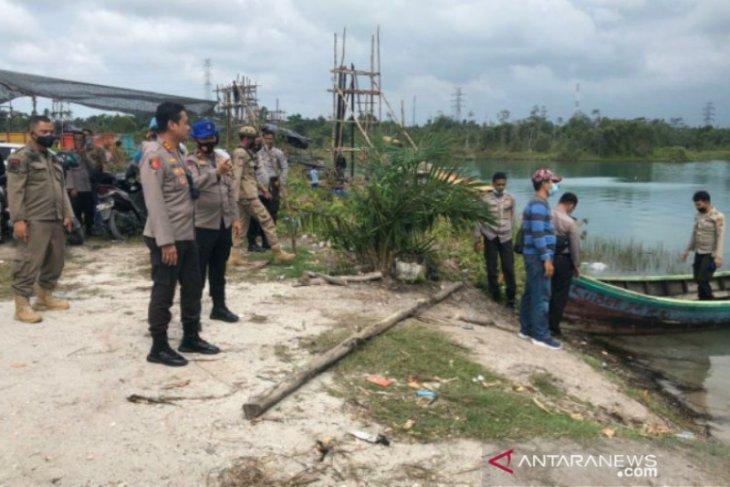 Polres Bangka Tengah tutup paksa penambangan timah