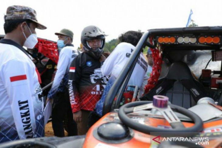 Gubernur tinjau circuit offroad di Parit Tiga Bangka Barat