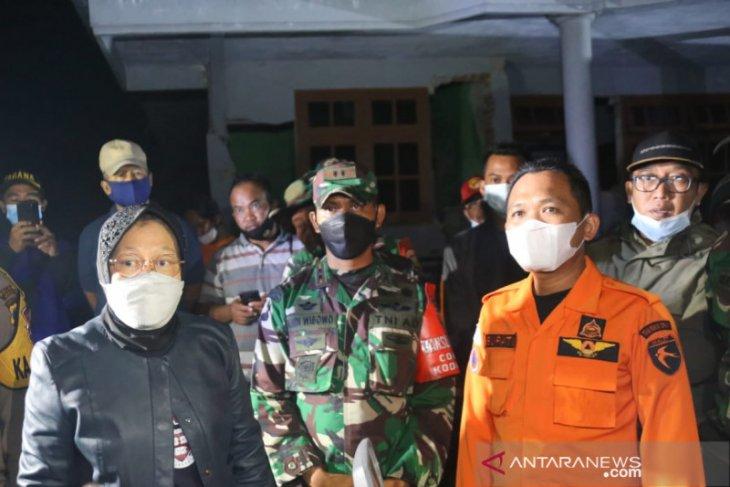 Mensos Risma minta Bupati Lumajang memastikan warga aman pascagempa