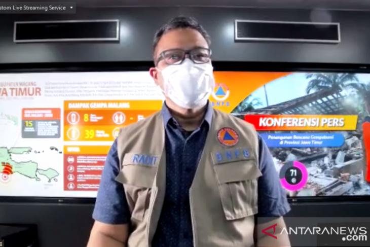 BNPB catat  8 orang meninggal dunia akibat gempa Malang