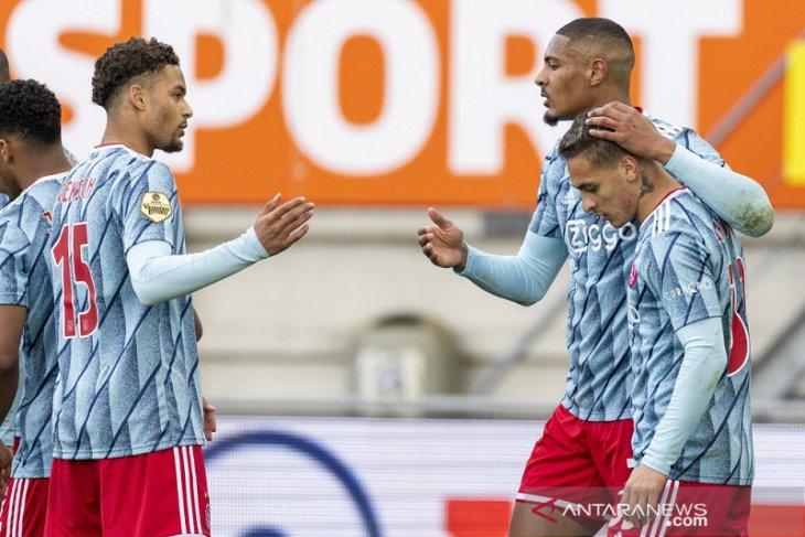 Klasemen Liga Belanda: Raih dua kemenangan lagi Ajax juara