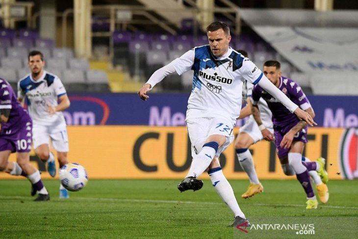 Atalanta atasi perlawanan sengit Fiorentina di Liga Italia